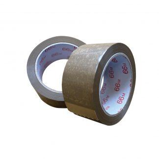 PVC-Klebefilm 50mm/66m braun
