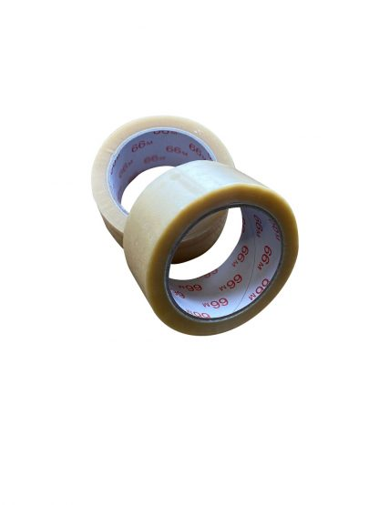PVC-Klebefilm 50mm/66m transparent
